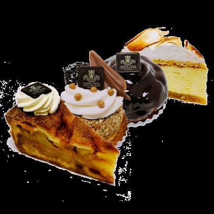 Klassiek gebak doos van 4